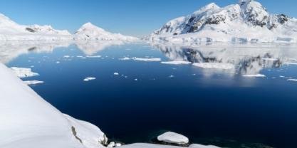 Summer melting on the Antarctic Peninsula happens between 25 and 80 days each year - a figure expected to rise soon by at least 50%. Image from Shutterstock
